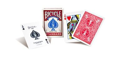 Bicycle Poker Standard, red