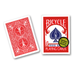 Bicycle Poker, red, Gold Seal