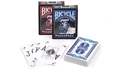 Bicycle Pro PokerPeek, blue