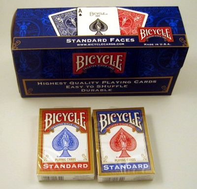 Bicycle Poker Standard, 12 st