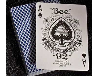 Bee Club Poker blue