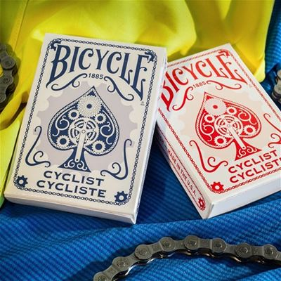 Bicycle Poker Cyclist, red