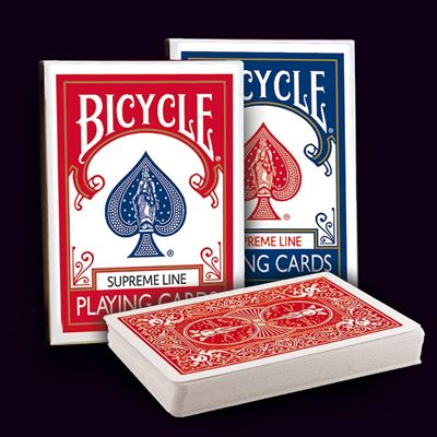 Bicycle Poker - Supreme line blue