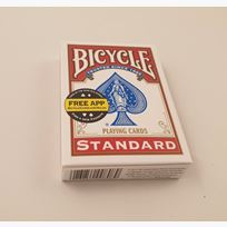 Bicycle Poker Tuck Box - red